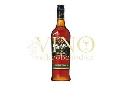 Bacardi black 0,7 L 37,5% tmavý rum