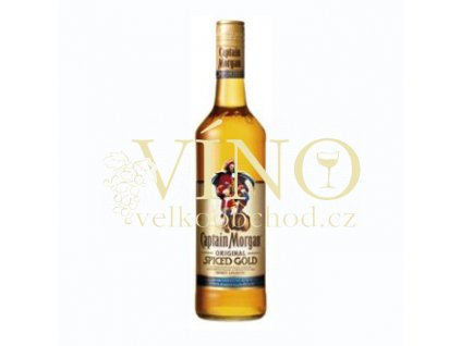 Captain Morgan Spiced Gold 0,5 l 35% jamajský rum