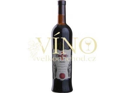 Templářské sklepy André, jakostní suché víno 0,75 l