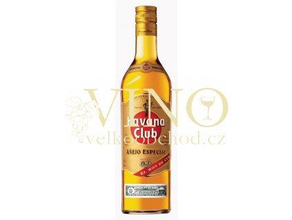 Havana Club Aňejo Especial 0,7 L 40% 5YO kubánský zlatý rum