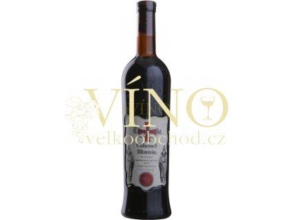 Templářské sklepy Cabernet Moravia, jakostní suché víno 0,75 l