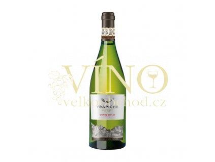 Trapiche Oak Cask Chardonnay 0,75 l suché argentinské bílé víno z Mendozy