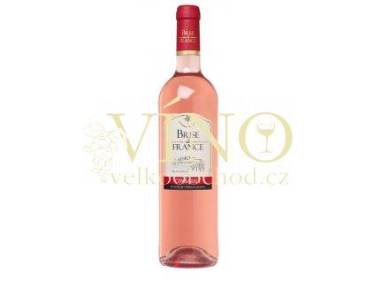 Víno Brise de France Grenache Syrah rosé 0,75 l suché francouzské růžové