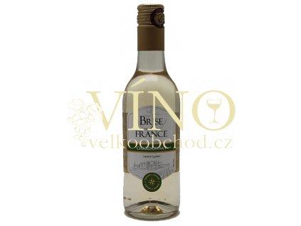 Akce karton ihned Víno Brise de France Chardonnay 0,25 l francouzské bílé suché