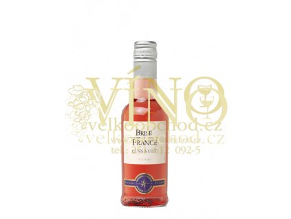 Víno Brise de France Cinsault rosé 0,25 l suché francouzské růžové