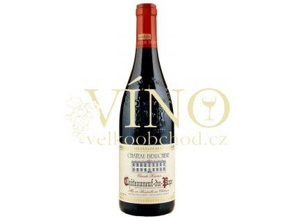 Chateau Beauchene Chateauneuf du Pape Grande Reserve AOC 0,75 L suché francouzské červené víno z Cotes du Rhone