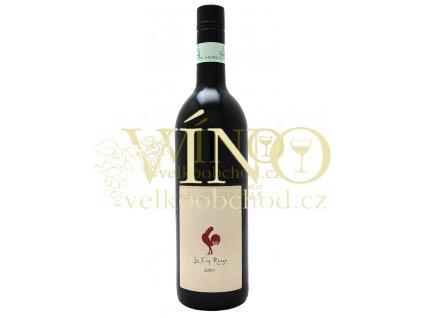 Chicken Wines LE COQ ROUGE Pays d'Oc IGP 0,75 L suché francouzské červené víno