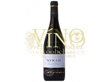 ELEGANCE Syrah Pays d'Oc IGP 0,75 L suché francouzské červené víno
