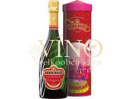 Tsarine Champagne Cuvée Premium Brut 0,75 L v dárkovém tubusu