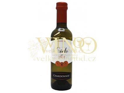 CIELO Chardonnay I.G.T. 0,25 l polosuché italské bílé víno