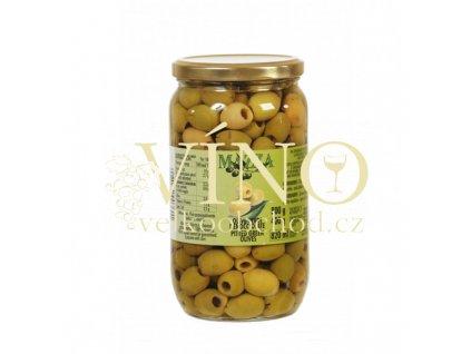 olive verdi denocciolate 800g