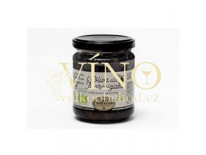 l oliva alla marchigiana in olio extra vergine 160g bio