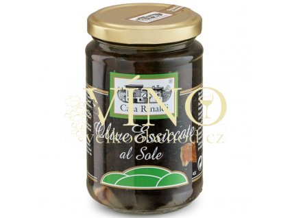 olive nere essiccate al sole 300g