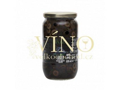 olive nere rondelle 800g