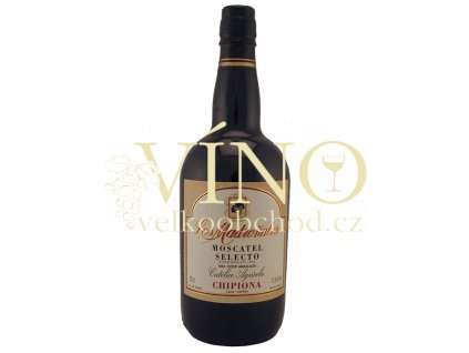 Moscatel Selecto Los Madroňales DO Jerez / Xeres / Sherry - Likérové víno