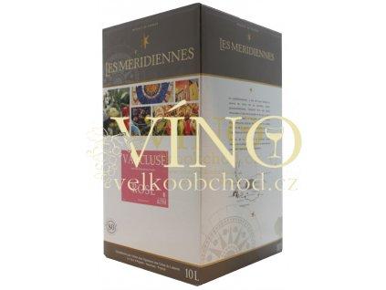 Akce ihned Marrenon bag in box 10 l VdP růžové francouzské víno v BIB