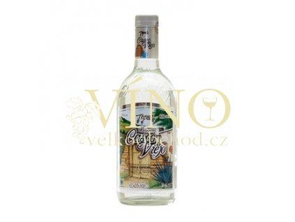 Casco Viejo blanco 0,7 l stříbrná tequila 38% destilát z agáve
