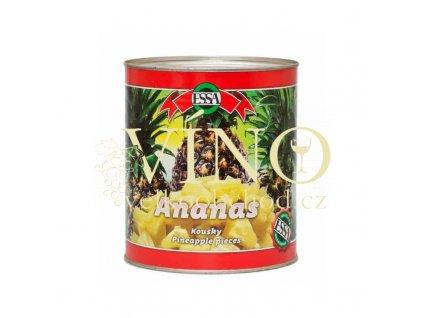 ananas kousky 3100ml