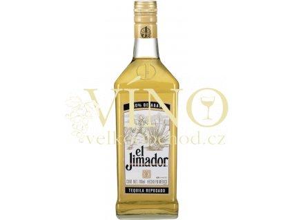 El Jimador Reposado gold tequila 0,7 l 38% destilát z agáve