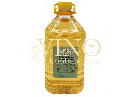 olio di semi di arachide 5l