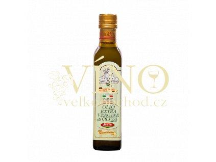 olio extra vergine non filtrato di oliva san martino 250ml