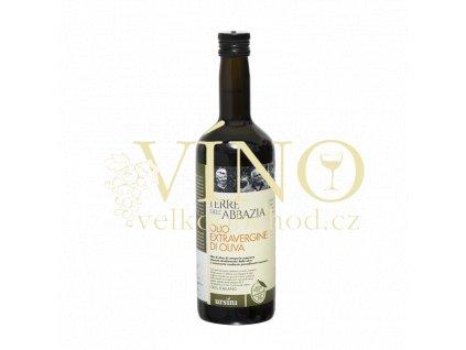 olio extra vergine di oliva terre del abbazia 750ml