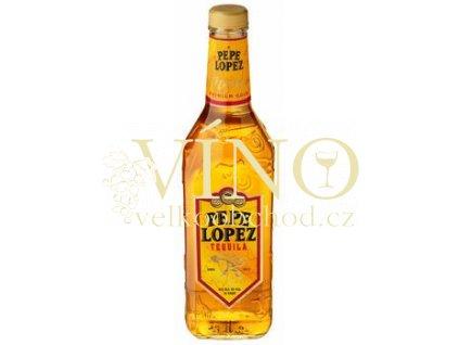 Pepe Lopez Gold tequila 1 l 40% destilát z agáve