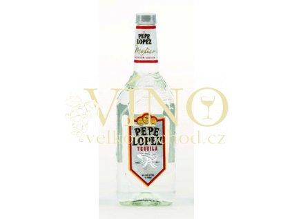 Pepe Lopez Silver tequila 1 l 40% destilát z agáve