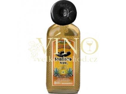 Sombrero Negro Gold tequila 1 l 38% destilát z agáve