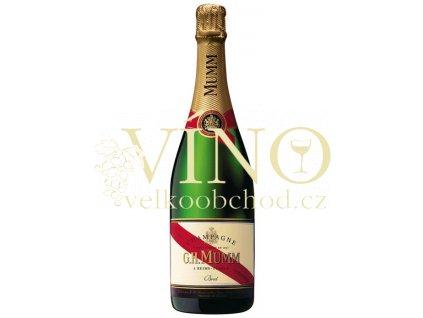 Akce ihned Champagne Mumm Cordon Rouge Brut 0,75 l francouzské šampaňské