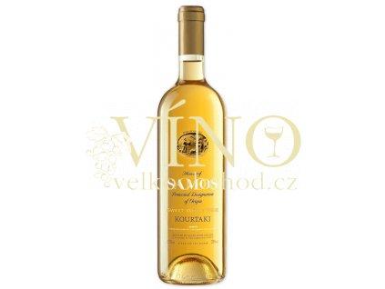 Kourtakis Muscat of Samos Kourtaki 0,75 l řecké bílé sladké víno
