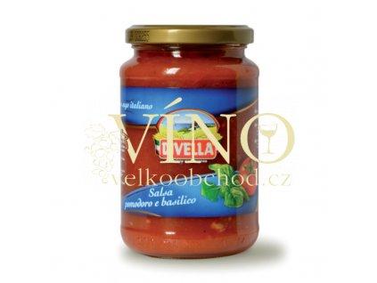salsa di pomodoro e basilico 340g