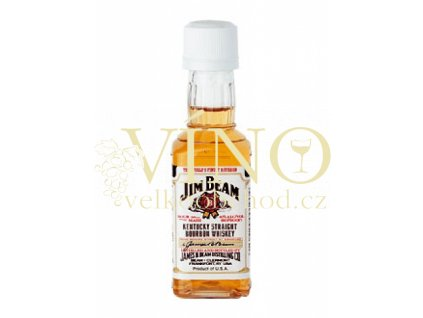 JIM BEAM BOURBON WHITE 0.05 L 40%