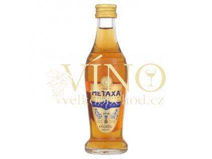 Metaxa 7 hvězdiček 0,05 L 38% brandy