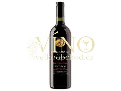 Kourtakis  Mavrodaphne of Patras Kourtaki 0,75 l řecké červené sladké víno