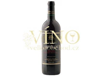 Akce ihned Kourtakis Apelia Black Label 0,75 l řecké červené polosladké víno