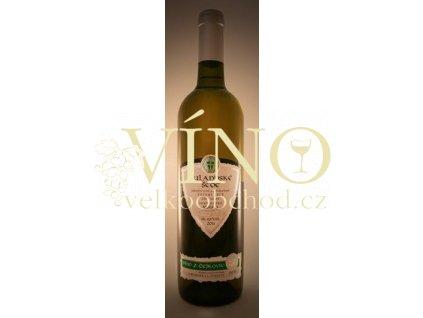 Zemědělská a.s. Čejkovice Rulandské šedé 2017 pozdní sběr 0,75 l moravské bílé víno