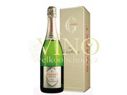 Champagne Gosset Brut Excellence 0,75 l v dárkové krabičce