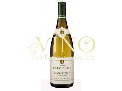 """Domaine Faiveley Chablis Premier Cru """"Les Fourchames"""" 2017 Joseph Faiveley francouzské bílé víno z Bourgogne"""