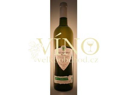 Zemědělská a.s. Čejkovice Rulandské bílé 2012 pozdní sběr 0,75 moravské bílé víno