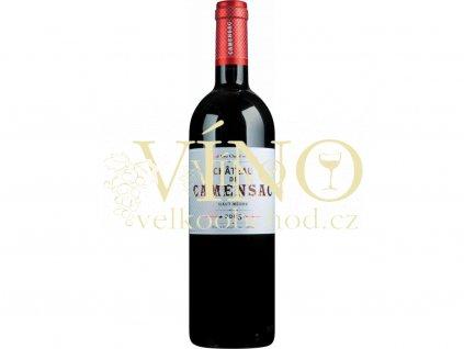 26762 chateau camensac 5eme cru classe 2016 0 75 l suche francouzske cervene vino