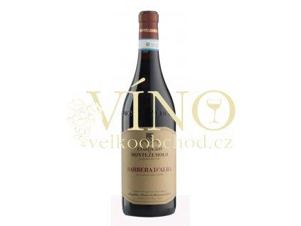 Barbera d´Alba DOP 2018 0,75 l italské červené víno z oblasti Piemonte