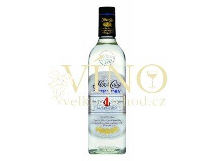 Flor de Caňa extra dry blanco 1 L 40% 4 letý nikaraguiský rum