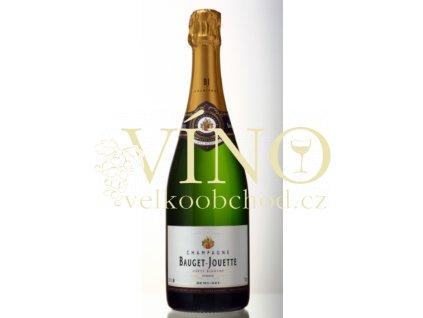 Champagne Bauget Jouette demi-sec