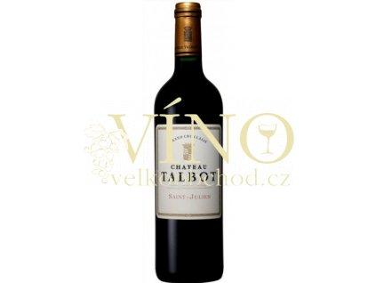 Saint Julien - Château Talbot 2017 Grand cru classé  Bordeaux vins