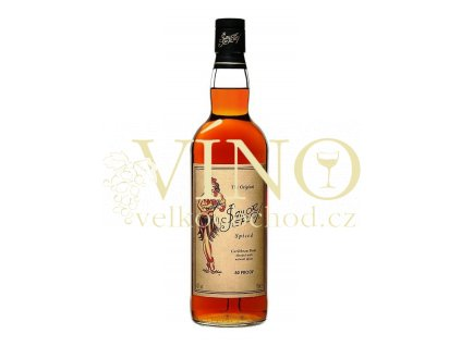 Sailor Jerry Spiced 0,7 L 40% karibský rum
