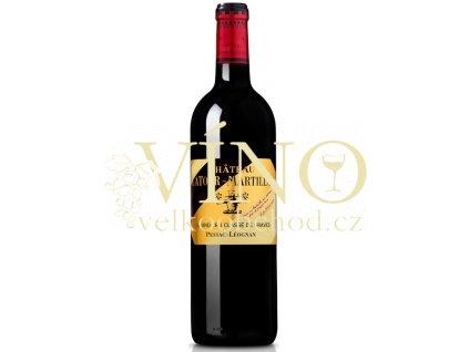Chateau Latour-Martillac Grand Cru Claséé 0,75 l suché červené francouzské víno z Bordeaux 2016 Pessac-Leognan
