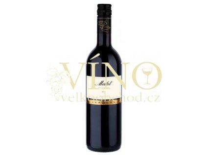 Domaine Laroche Merlot de La Chevaliére VdP d´Oc francouzské červené víno z oblasti Languedoc-Roussillon