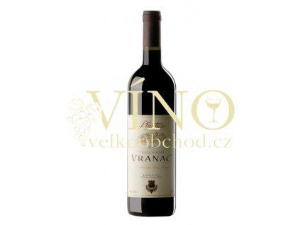 Jul Plantaže Vranac 0,75 L suché černohorské červené víno z Podgorici
