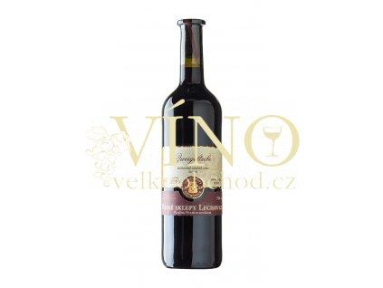 Znovín Znojmo Zweigeltrebe 0,75 l suché červené víno Vinné sklepy Lechovice